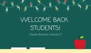 Classes Resume January 7 2019 Medicine Hat Catholic Board Of